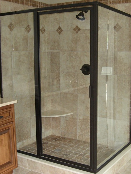 framed shower doors enclosures