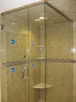 Frameless Shower Door – Steam 002