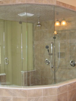 Frameless Shower Door – Steam 003