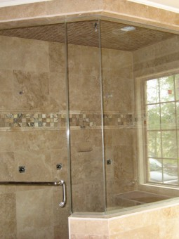 Frameless Shower Door – Steam 004