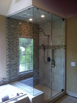 Frameless Shower Door – Steam 005