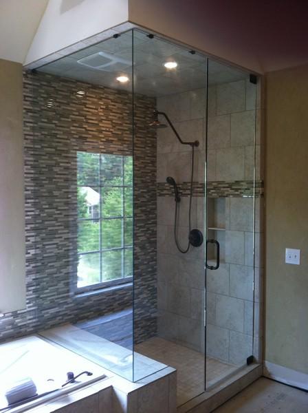 Frameless Shower Door – Steam 005