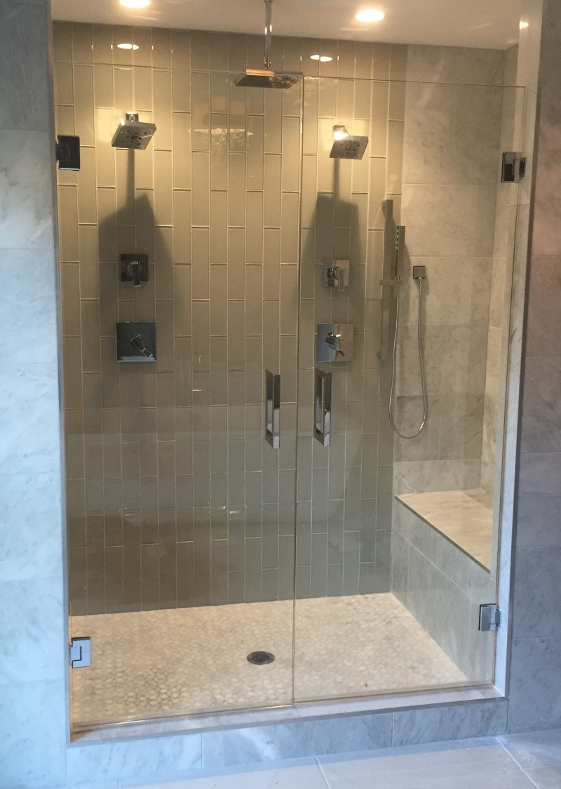 Famous double shower pictures inspiration the best for Bathroom ideas double shower
