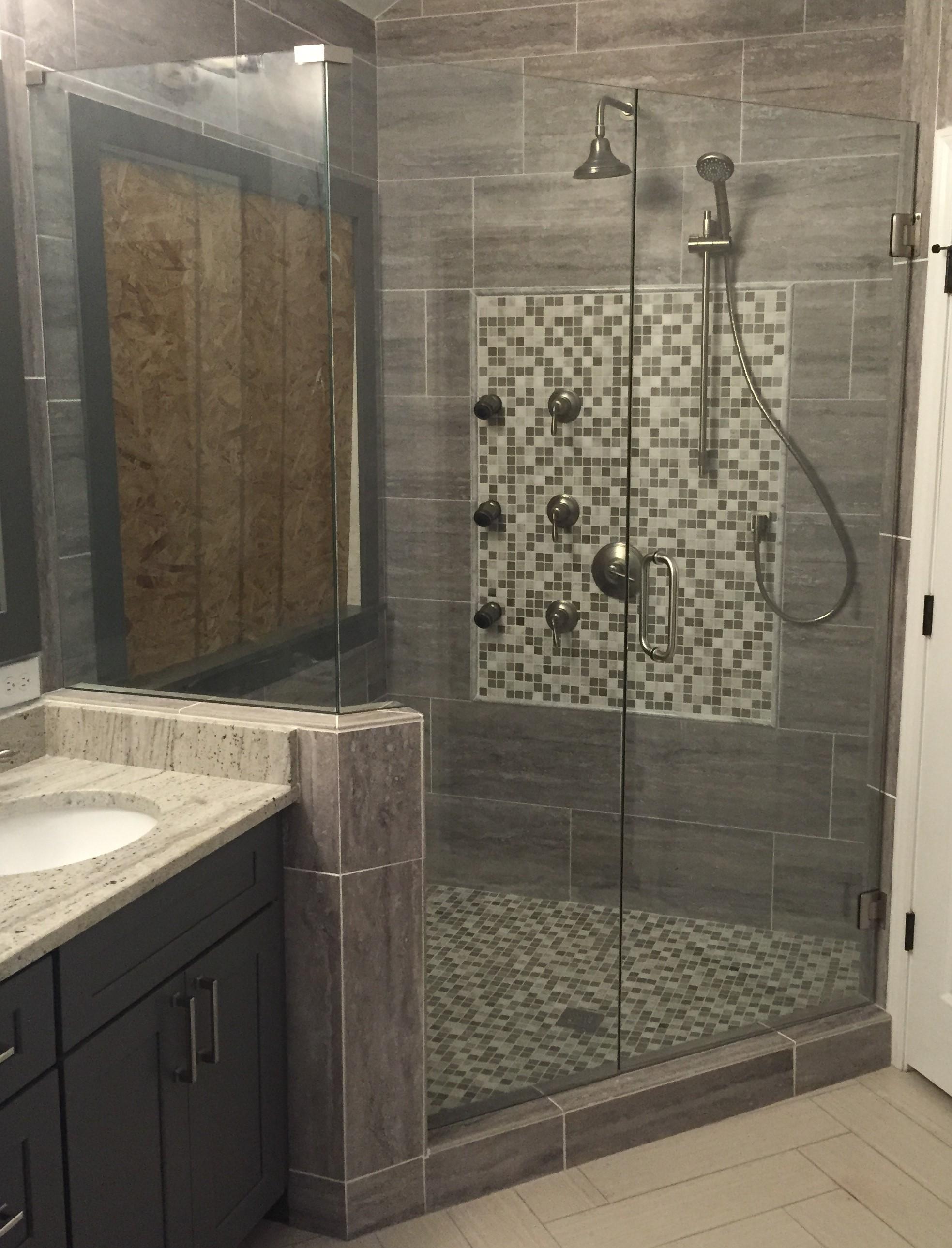 Exelent Standard Shower Door Picture Collection Bathroom