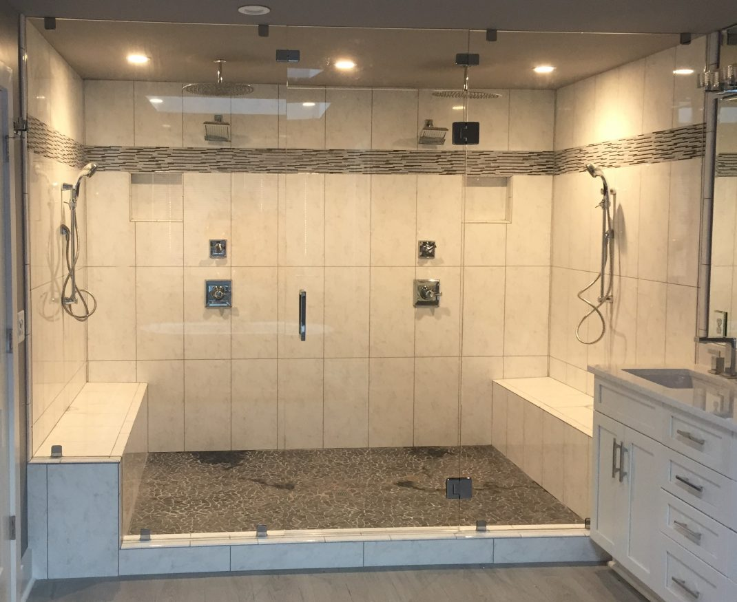 Steam Showers Frameless Shower Doors
