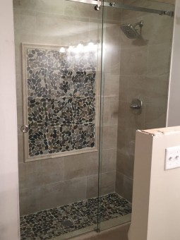Frameless Serenity Slider Shower Door 004