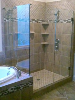 Frameless Shower Door 075