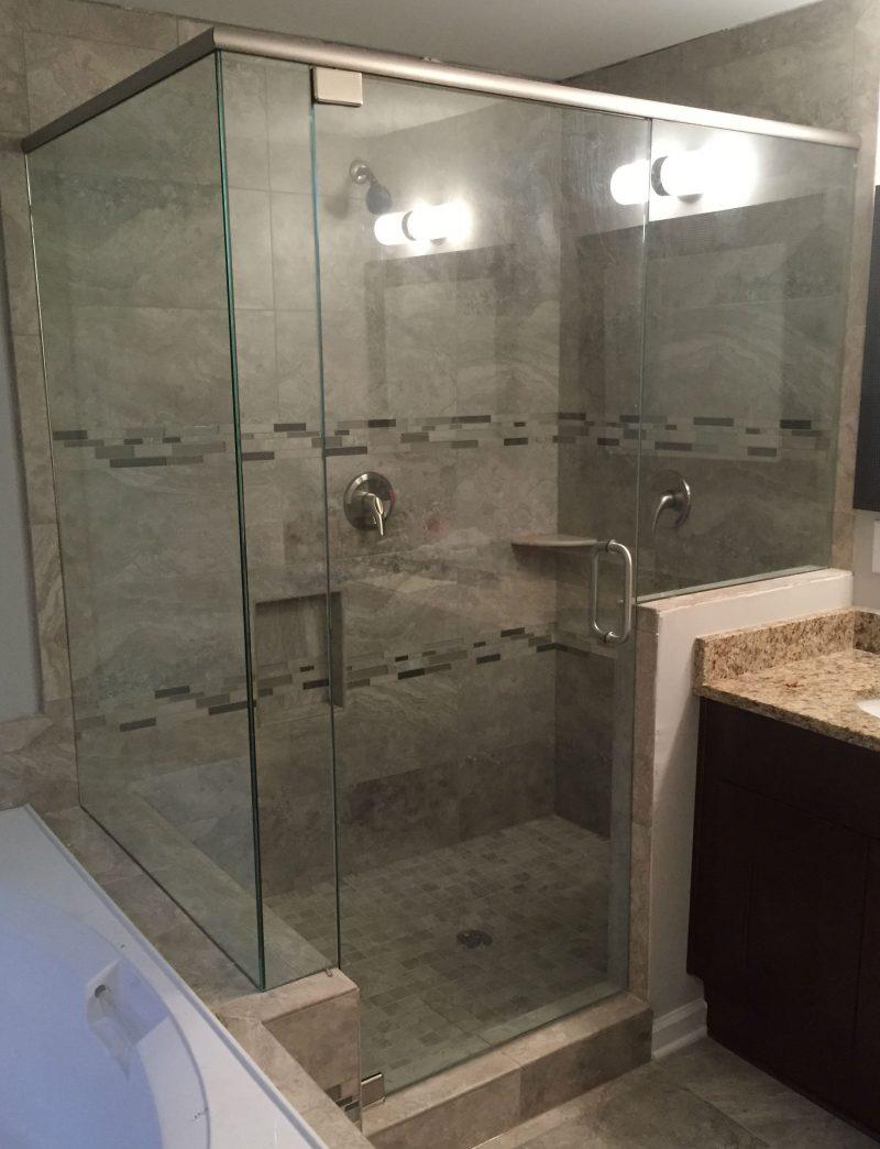 Frameless showers with header frameless shower doors frameless shower door with header 039 vtopaller Choice Image