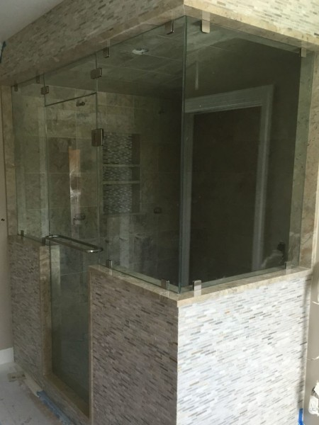 Frameless Shower Door – Steam 016