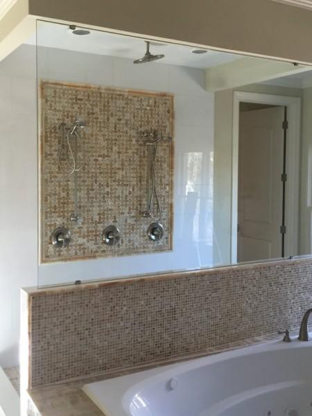 Frameless Shower Door Panel 003