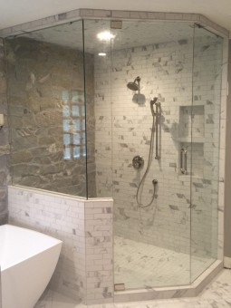 Frameless  Shower Door – Steam 013