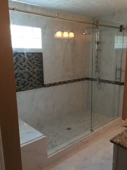 Frameless Shower Door 098